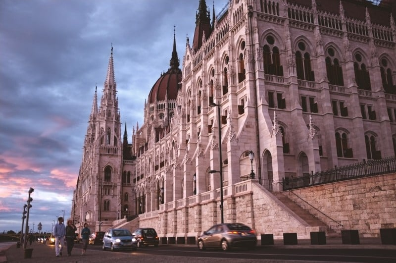 Budapest in 3 Tagen - das palament