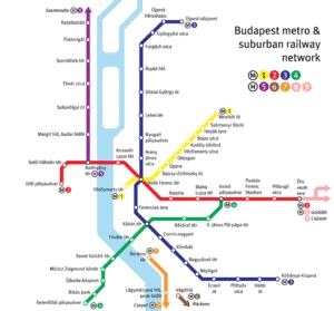 budapest U-bahn karte