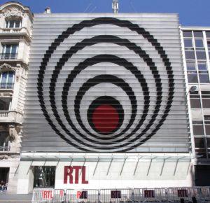 Vasarely museum Budapest RTL logo
