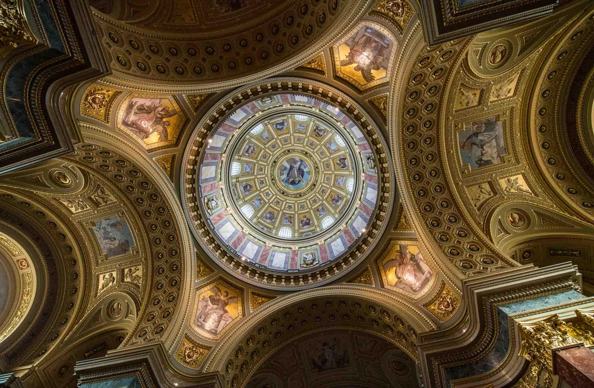 Budapest in 4 Tagen - ST. STEPHANS BASILIKA