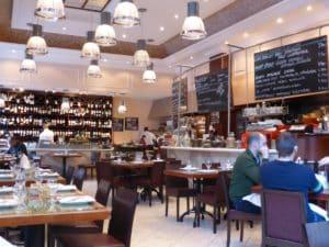restaurants in Budapest - Bock bistro