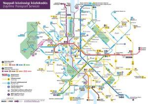 Öffentliche Verkehrsmittel in Budapest
