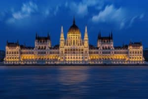 Sightseeing Kreuzfahrt Budapest Parlament