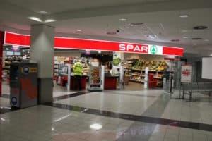 Supermarkt Spar - Budapest Flughafen