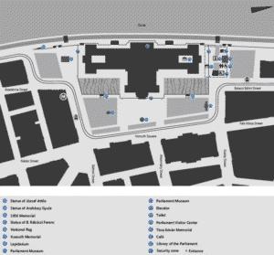parlament karte