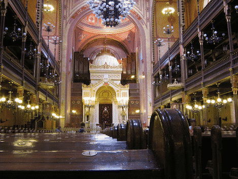 Budapester Synagoge in Ungarn