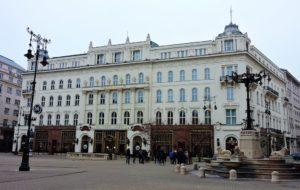 Cafés in Budapest -gerbeaud