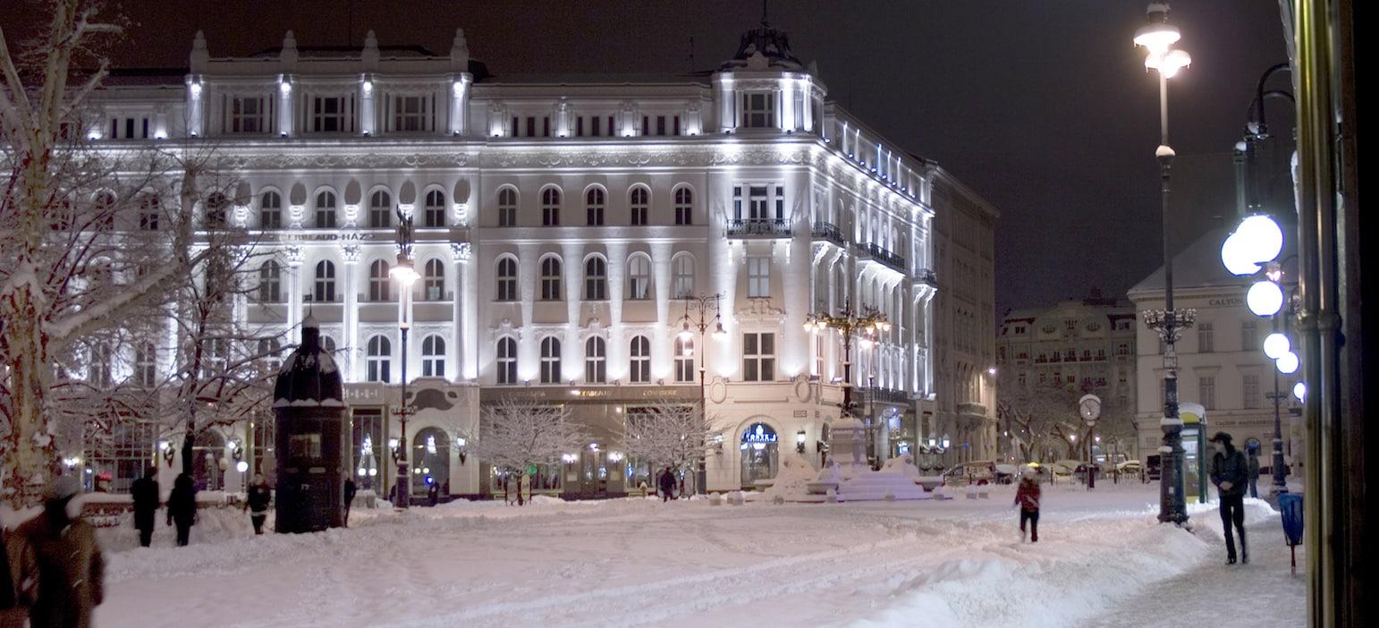 café gerneaud in Budapest