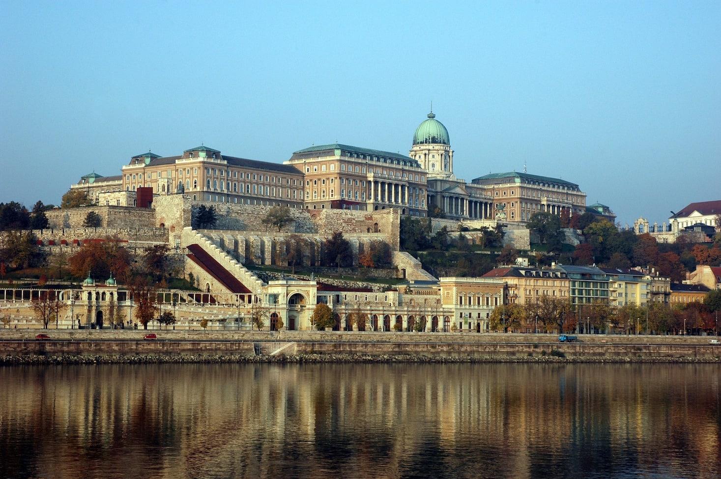 Der Budaer Burgpalast