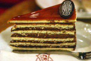 Ungarisches Gebäck Dobos torta
