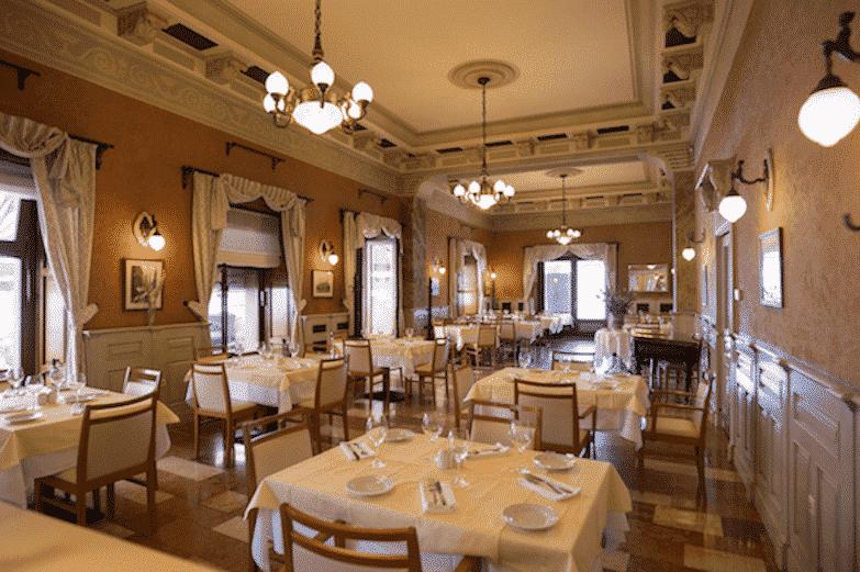 Restaurants in Budapest - Dunacorso 1
