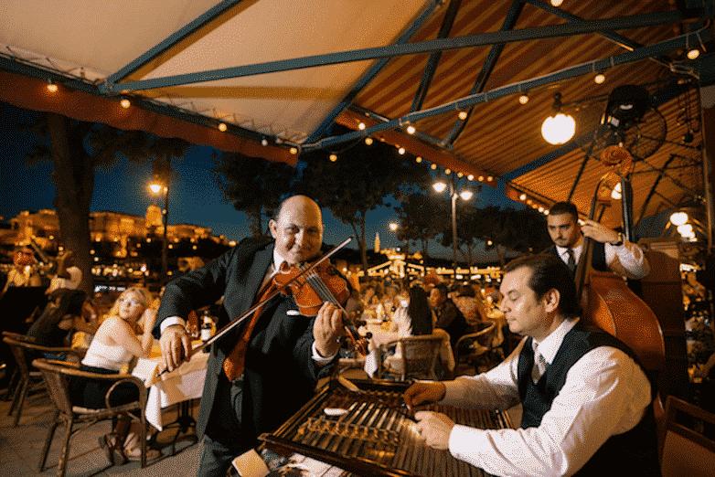 Restaurants in Budapest - Dunacorso