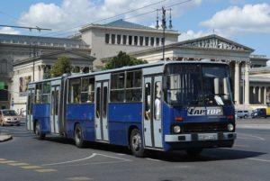 Budapest Busse und Trolleybusse