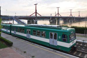 U-bahn und Zug Budapest
