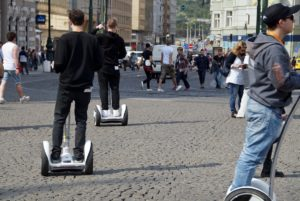 Segway in Budapest