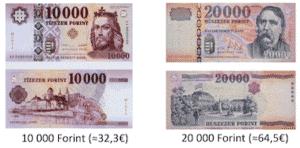 Geldwechseln in Budapest