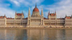 des Budapester Parlaments