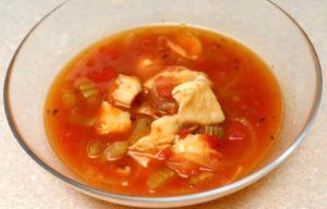 Suppe 'Halászlé'