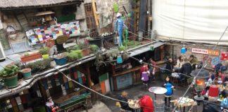 Nachtleben in Budapest Szimpla kert