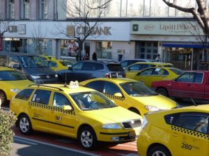 taxis in Budapest