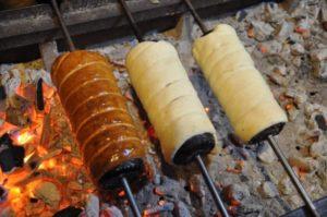 Ungarisches Gebäck - kürtőskalács