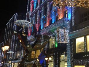 Weihnachtsmarkt Fashion Street Budapest