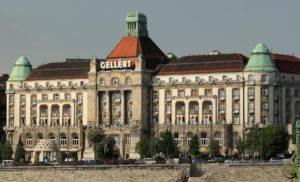 Das Gellért Hotel in Budapest