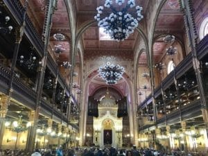 Die große Synagoge in Budapest