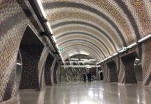 u-Bahn in Budapest