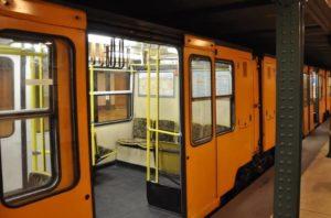 die erste U-Bahn Linie in Budapest