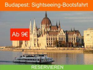 Budapest Bootsfahrt
