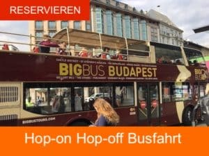Budapest Busfahrt