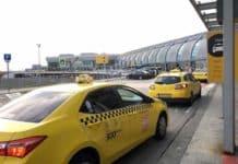 Taxi am Flughafen Budapest
